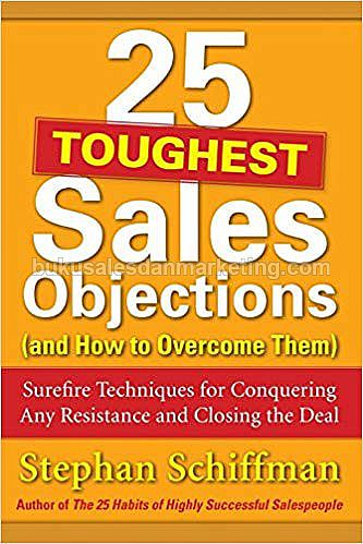 25 Toughest Sales Objection